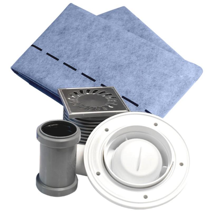 Kit de lámina impermeabilizante para todo tipo de duchas