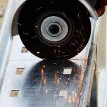 Amoladora angular para discos de 115 y 125 mm