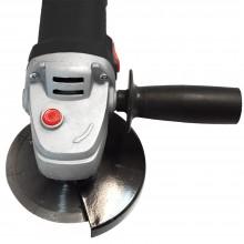 Amoladora angular para discos de 115 y 125 mm. Perfecta para cortar piezas pequeñas. Cepillar, pulir y desbastar.