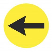 Vinilo circular para dirección