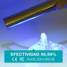 Lámpara con luz UV-C