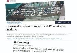 Mascarillas Quirúrgicas IIR y FFP2 sin grafeno
