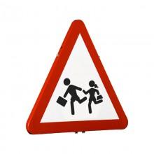 Señal Tráfico Reflex - Zona escolar reflexiva
