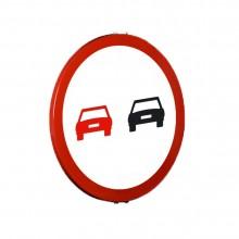 Señal Tráfico Reflex - Adelanto prohibido reflexiva